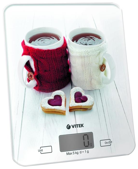Весы кухонные Vitek VT-2424 W White