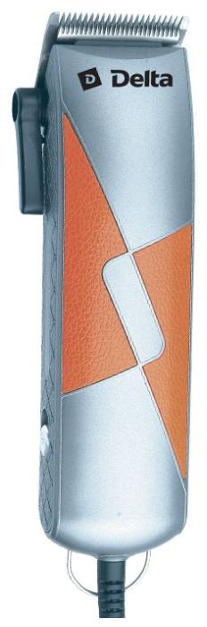 Delta DL-4048, silver with orange - машинка универсальная, питание: от сети, длина стрижки: 3 - 12 мм, насадки: 4 К48648