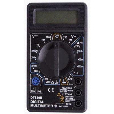 PROconnect M830B (DT830B) - Мультиметр цифровой; бытовой; для применения в слаботочных цепях 13-3011