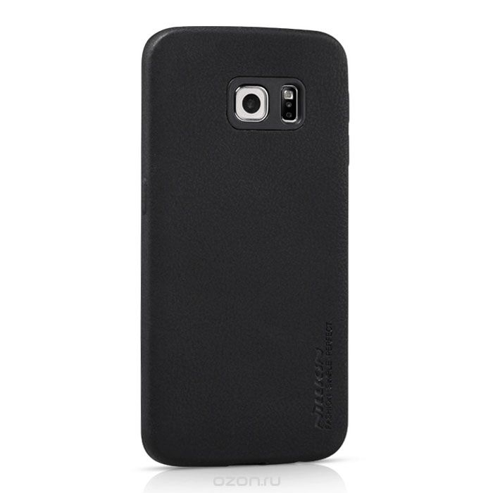 Чехол-накладка Nillkin Victoria series для Samsung Galaxy S6 Edge Black