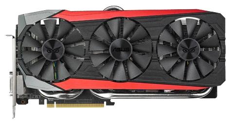 ���������� ASUS PCI-E Radeon R9 390X 8Gb STRIX-R9390X-DC3OC-8GD5-G
