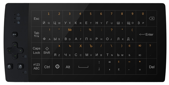 Клавиатура Upvel UM-517KB Black USB