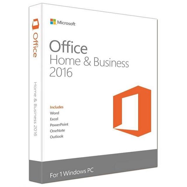Пакет приложений Microsoft Office Home and Business 2016 (BOX, рус.) T5D-02292