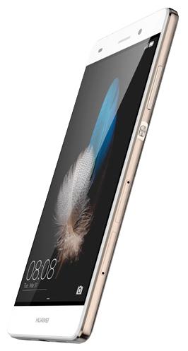 Huawei Ascend P8 Lite, White - (Android 5.0; GSM 900/1800/1900, 3G, 4G LTE, LTE-A Cat. 4; SIM-карт 2 (micro SIM+nano SIM); HiSilicon Kirin 620, 1200 МГц; RAM 2 Гб; ROM 16 Гб; 2200 мАч; 13 млн пикс., светодиодная вспышка; есть, 5 млн пикс.; датчики - освещенности, приближения, компас)