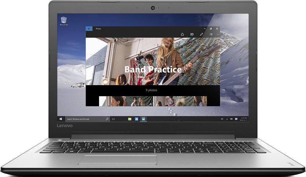 Lenovo IdeaPad 300-15IBR (80M300MQRK) - (Intel Pentium N3710 1600 МГц. Экран 15.6 дюймов, 1366x768, широкоформатный. ОЗУ 2 Гб DDR3L. Накопители HDD 500 Гб; DVD-RW. GPU NVIDIA GeForce 920M. ОС Windows 10)