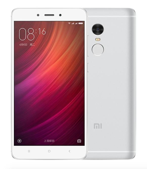 Xiaomi Redmi Note 4 64Gb Silver - (; GSM 900/1800/1900, 3G, 4G LTE, LTE-A Cat. 6; SIM-карт 2 (micro-SIM + nano-SIM); MediaTek Helio X20 (MT6797), 2100 МГц; RAM 3 Гб; ROM 64 Гб; 4100 мАч; 13 млн пикс., светодиодная вспышка; есть, 5 млн пикс.; датчики - освещенности, приближения, Холла, гироскоп, считывание отпечатка пальца)