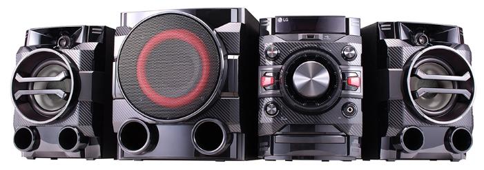 Музыкальный центр LG Mini DM5660K, black