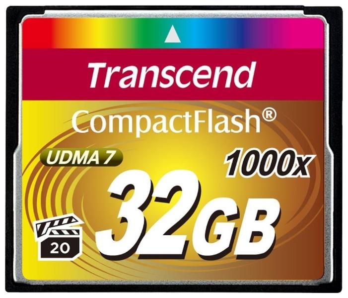 Карта памяти Transcend TS32GCF1000, 32Gb, 1000x UDMA7