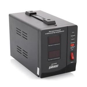 Стабилизатор напряжения PowerMan AVS 1500D 1500VA Black