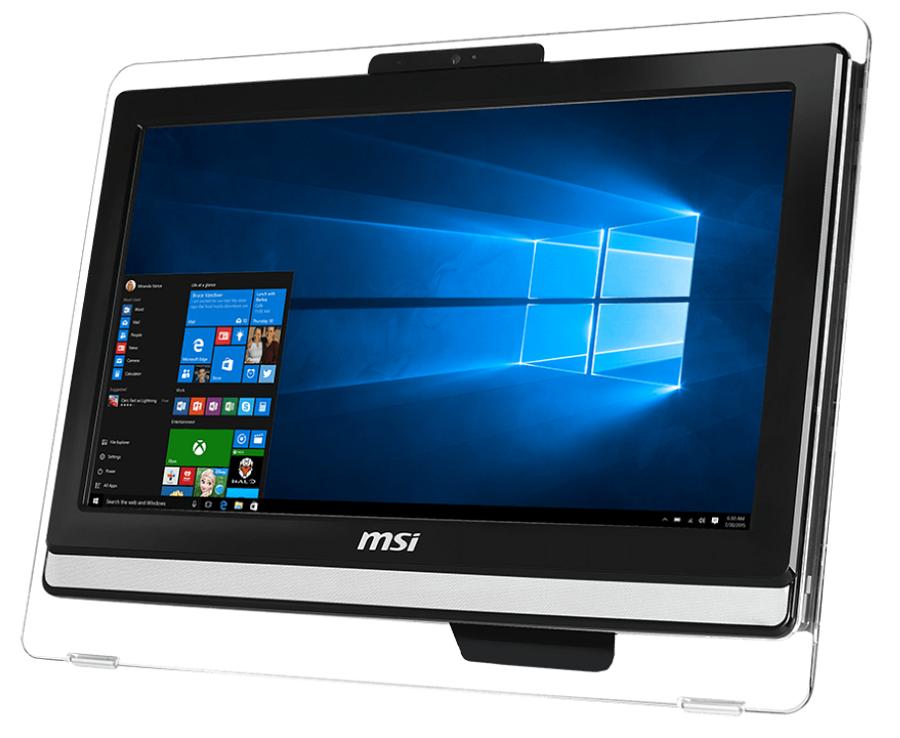 "MSI Pro 20ET 4BW-013RU, Black - (Intel Pentium N3700 / 1.60 ГГц; 4 Гб; 500 Гб; ODD - DVD Super Multi • Экран 19.5"" 1600x900; Intel HD Graphics (интегрированная) • LAN 10-1000 Мбит/с; Wi-Fi 802.11 b/g/n • MS Windows 10 Home (64-bit), версия для одного языка)"