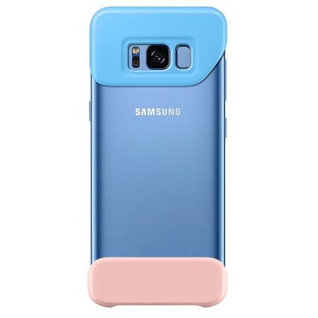 Samsung для Galaxy S8 2Piece Cover (EF-MG950CLEGRU) blue-peach