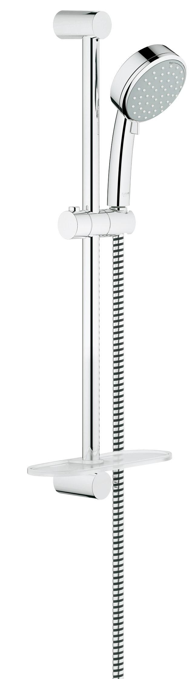 Grohe 27928001 Tempesta Cosmopolitan (ручной душ, штанга 600 мм, шланг 1750 мм), хром