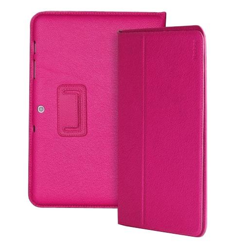 Yoobao для Samsung Galaxy Note N8000 Pink - (для экрана 10.1; искусственная кожа; Розовый • назначение - Samsung Galaxy Note N8000)