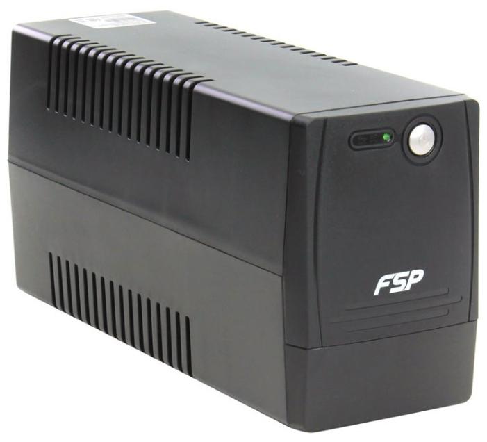 FSP Group ALP 600, Black - (резервный; 600 ВА / 360 Вт; розеток 4 (из них с питанием от батарей - 4))