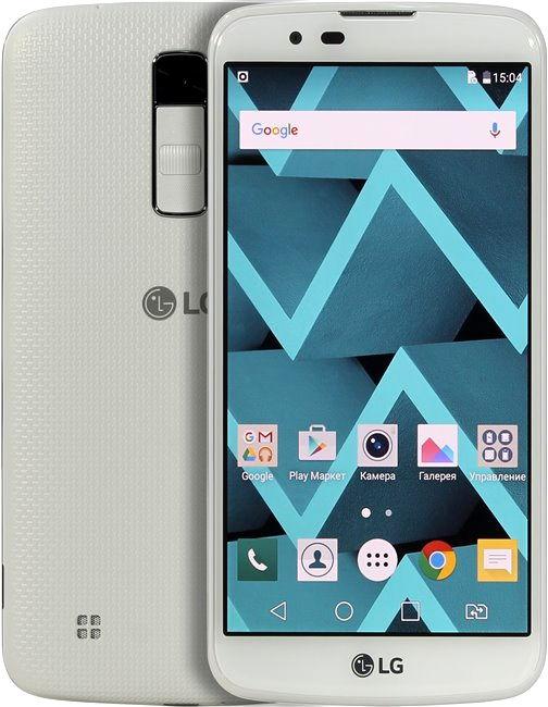 LG K10 LTE K430DS (Вьетнам), White - (; GSM 900/1800/1900, 3G, 4G LTE; SIM-карт 2; MediaTek MT6753, 1140 МГц; RAM 1.50 Гб; ROM 16 Гб; 2300 мА?ч; 13 млн пикс., светодиодная вспышка; есть, 5 млн пикс.)