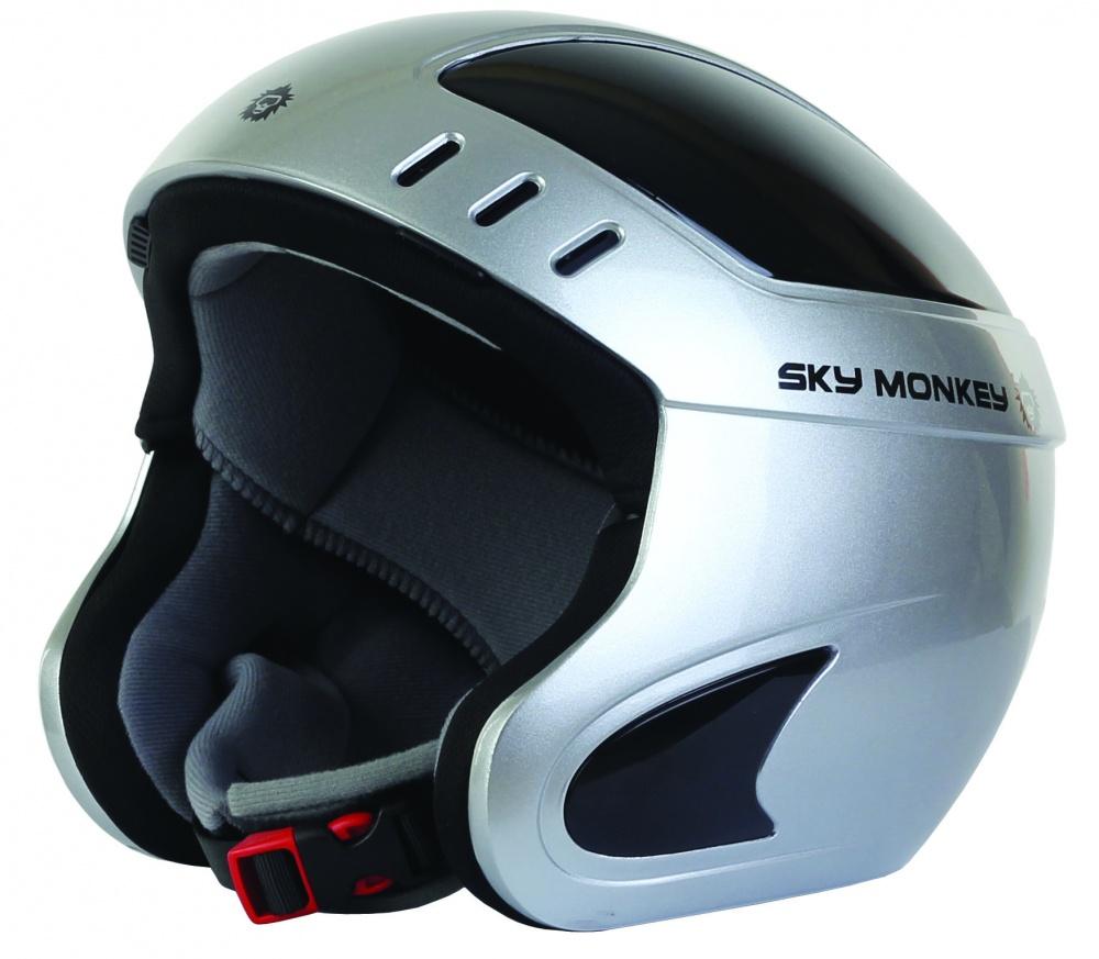 Шлем горнолыжный Sky Monkey SILVER (VS660) рM(57-58) (371)