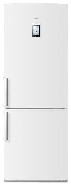 Атлант ХМ 4524-000 ND - (холодильник, 401 л (клим.класс SN), компрессоров 1, камер 2, дверей 2. Хол-ник 280 л (разм. No Frost). Мор-ник 121 л (разм. No Frost). ШГВ 69.5x65.4x195.8 см. Дисплей есть. Управление электронное. Энергопотр-е класс A (412.45 кВтч/год). белый / пластик/металл)