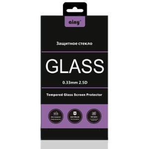 Стекло защитное Ainy для Samsung Galaxy A7 черное