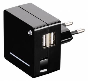 Зарядное устройство Hama Opal, 00124557, универсальное, black