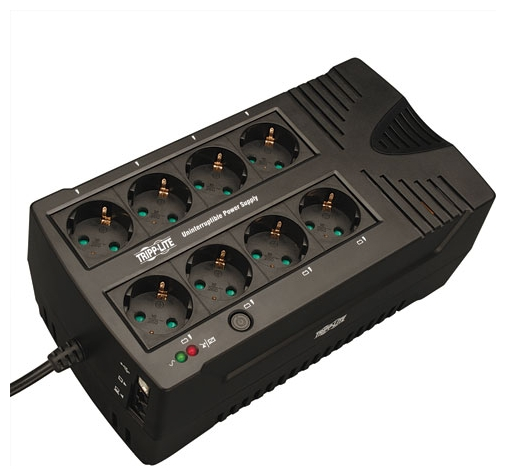 ИБП Tripp Lite AVRX550UD (линейно-интерактивный), Black