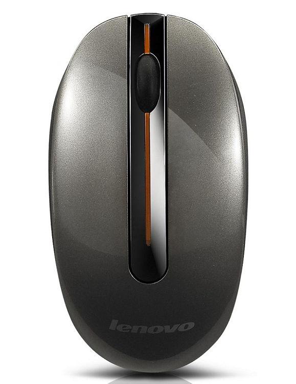 Мышь Lenovo Wireless Mouse N3903A Metal 3D Island Grey USB 888011134