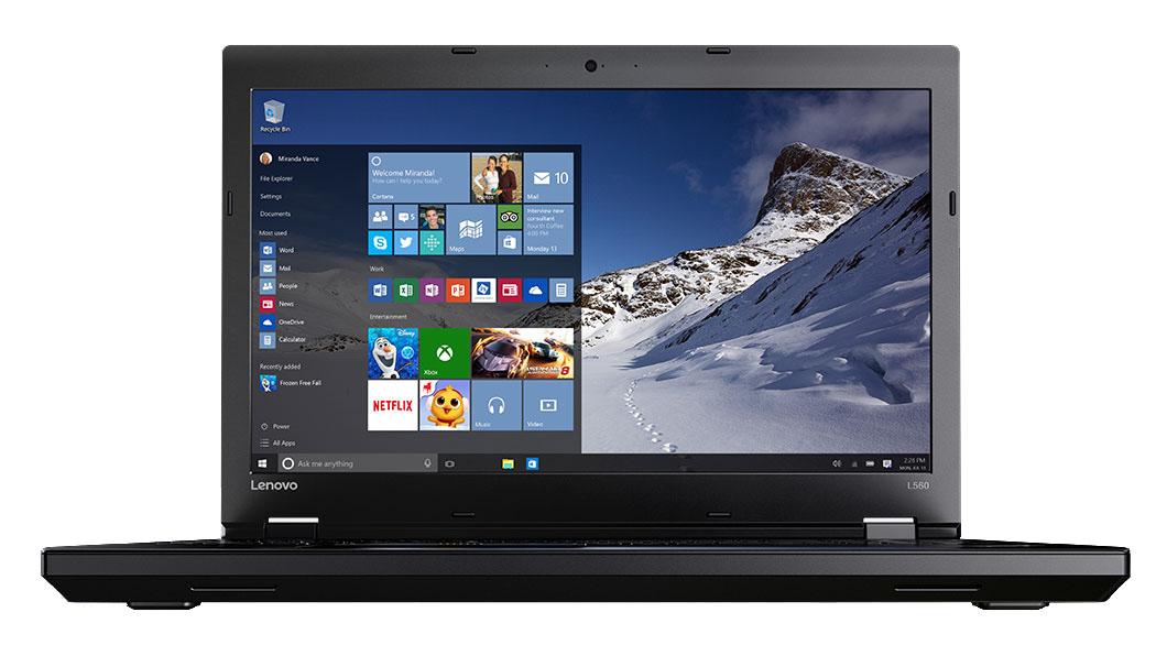 Lenovo ThinkPad L560 (20F1002WRT) - (Intel Core i5 6200U 2300 МГц. Экран 15.6 дюймов, 1920x1080, широкоформатный TFT IPS. ОЗУ 8192 Мб. Накопители; DVD-RW. GPU Intel HD Graphics 520. ОС Windows 10)