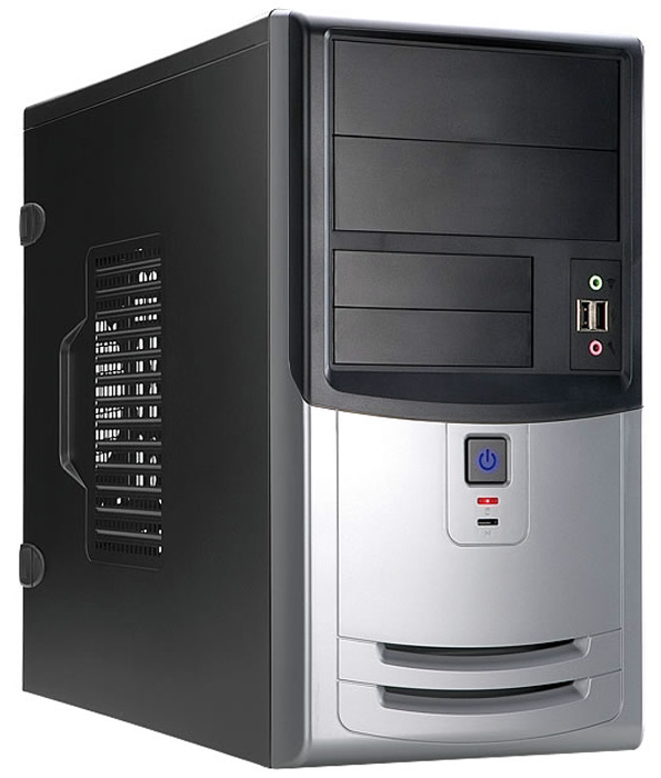 Корпус для компьютера Inwin EMR018BS 450W Black/silver