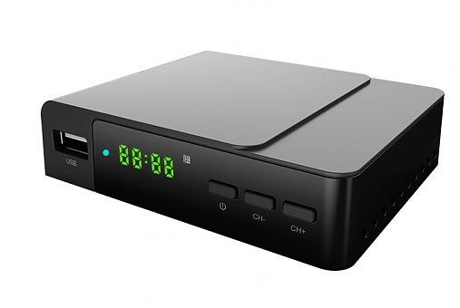 Rolsen RDB-530, Black - Исполнение внешнее; DVB-T, DVB-T2; HD - 720p/1080p • Формат: 4:3, 16:9. Телетекст: есть. 1-RLDB-RDB-530