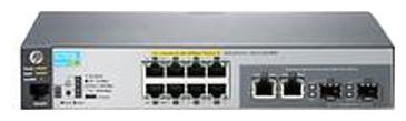 HP 2530-8G-PoE+ - коммутатор (switch); 8 x Ethernet 10/100/1000 Мбит/сек; пропускная способность 20 Гбит/сек; таблица MAC-адресов -