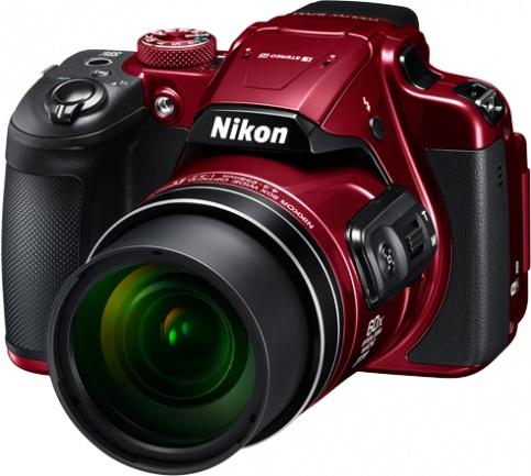 Nikon Coolpix B700 red - (21.14 млн, оптический zoom: 60x, 1920x1080, 5 кадр./сек, ЖК-экран: поворотный, 921000 точек, 3 дюйма)