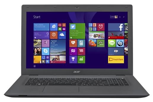 Acer ASPIRE E5-772G-32CD (NX.MV9ER.004) - (Core i3 5005U 2000 МГц. Экран 17.3 дюймов, 1600x900, широкоформатный. ОЗУ 4 Гб DDR3L. Накопители HDD 500 Гб; DVD-RW, внутренний. GPU NVIDIA GeForce 940M. ОС)