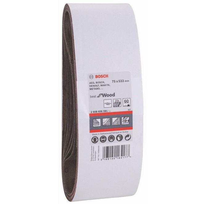 Набор Bosch 2.608.606.080 (40 grt, 75x533, 10 шт.) 2608606080