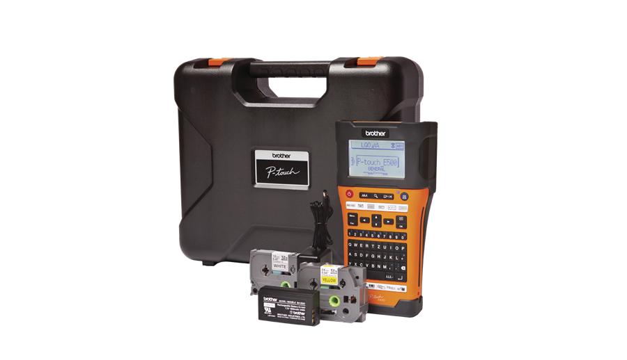 Brother P-touch PT-E550WVP R1 - (; скорость - До 20 мм/с • Питание - от аккумулятора (BA-E001), от сетевого адаптера, от батареек (6x AA))
