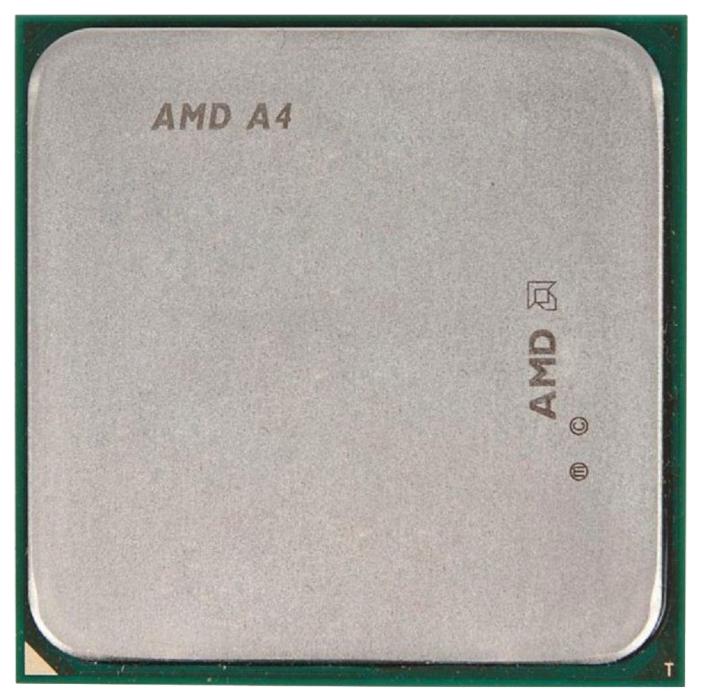 AMD A4-4000 Richland (FM2, L2 1024Kb), OEM - FM2; Richland; ядер 2; 32 нм; 3000 МГц; L1 48 Кб; L2 1024 Кб; TDP 65 Вт • HD 7480D, 720