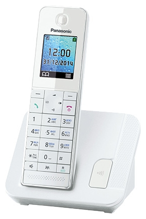 Радиотелефон DECT Panasonic KX-TGH210RUB White KX-TGH210RUW