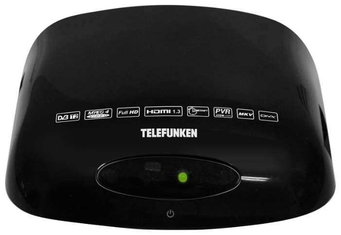 TV-����� TELEFUNKEN TF-DVBT211, Black