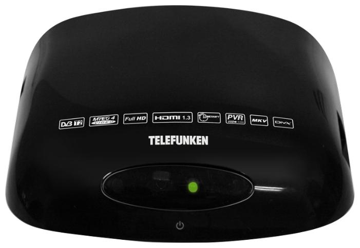 TV-тюнер TELEFUNKEN TF-DVBT211, Black
