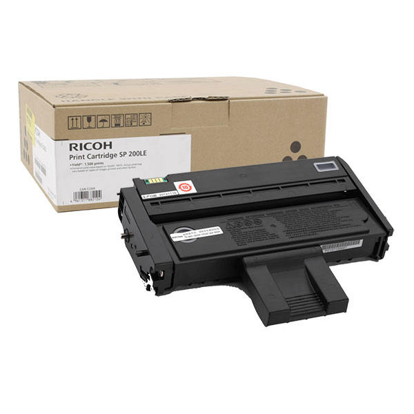 Картридж лазерный Ricoh SP 200LE, black 407263