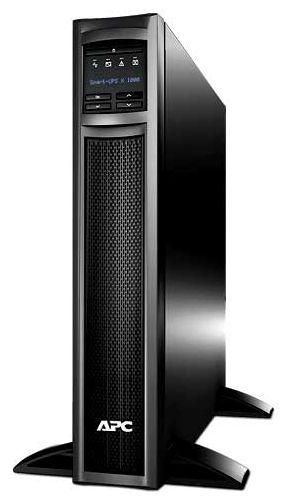 APC Smart-UPS X 1000VA Rack/Tower LCD 230V - интерактивный; 1000 ВА / 800 Вт; вход 160 - 285 В; розеток 8 (из них с питанием от батарей