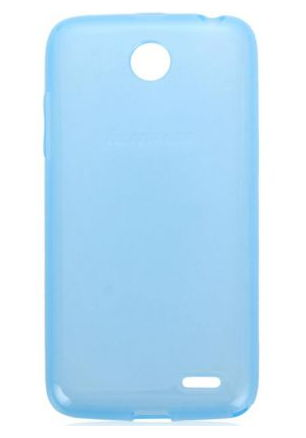 Lenovo для смартфона Lenovo A516 Blue - (смартфон Lenovo A516; пластик, резинка)