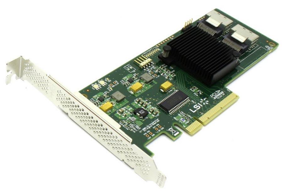 Контроллер LSI Logic SAS 9211-8i (LSI00194)