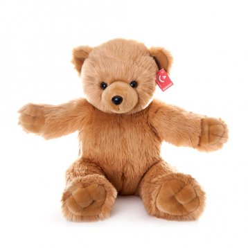 Мягкая игрушка Aurora, Медведь Обними меня, brown