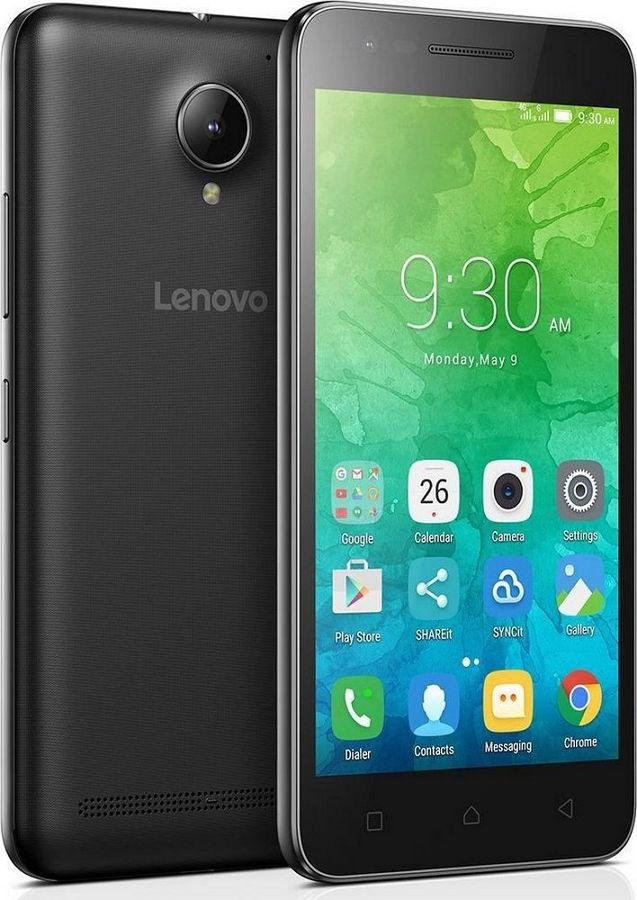 Lenovo Vibe C2 (K10A40) 8Gb 2SIM LTE Black - (; SIM-карт 2; MediaTek MT6735P, 1000 МГц; RAM 1 Гб; ROM 8 Гб; 2750 мАч; 8 Мп; 5 Мп; Wi-Fi 802.11 b/g/n; GPS с поддержкой A-GPS)