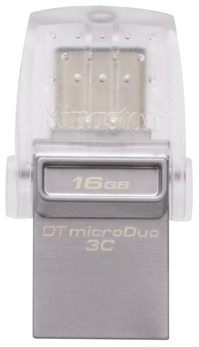Флешка Kingston DataTraveler microDuo 3C 16GB DTDUO3C/16GB