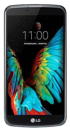 LG K10 K430 DS 16Gb LTE Blue - (; GSM 900/1800/1900, 3G, 4G LTE; SIM-карт 2; MediaTek MT6753, 1140 МГц; RAM 1.50 Гб; ROM 16 Гб; 2300 мА?ч; 13 млн пикс., светодиодная вспышка; есть, 5 млн пикс.)
