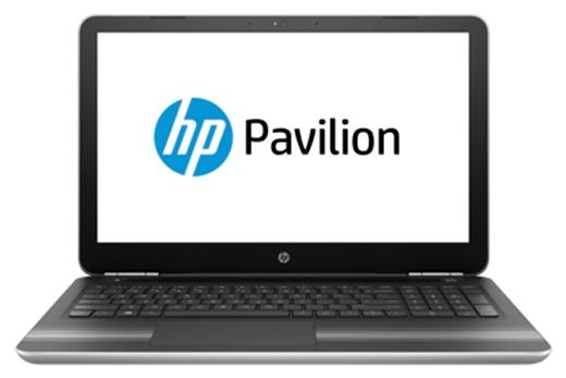 HP Pavilion 15-aw005ur E8R29EA silver - (AMD A9 9410 2900 МГц. Экран 15.6 дюймов, 1366x768, широкоформатный. ОЗУ 4 Гб DDR4 2133 МГц. Накопители HDD 1000 Гб; DVD-RW, внутренний. GPU AMD Radeon R5. ОС DOS)