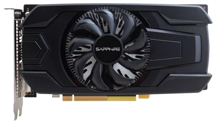 Видеокарта Sapphire Radeon RX 460 2048Mb OC Single Fan 11257-10-20G