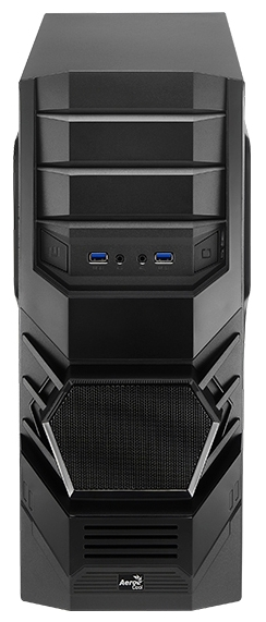 Корпус для компьютера AeroCool Cyclops Advance 600W, Black