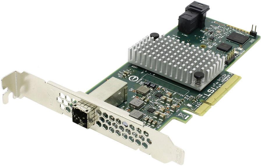 Контроллер LSI Logic SAS 9300-4i4e SGL H5-25515-00