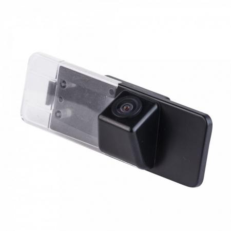 Intro VDC-049 для Honda Civic (2012) - (Установка - вместо штатной подсветки номерного знака; Дисплей - автомагнитола или штатное головное устройство (ШГУ); Соединение проводное; Ночной режим есть; Разметка отключаемая)